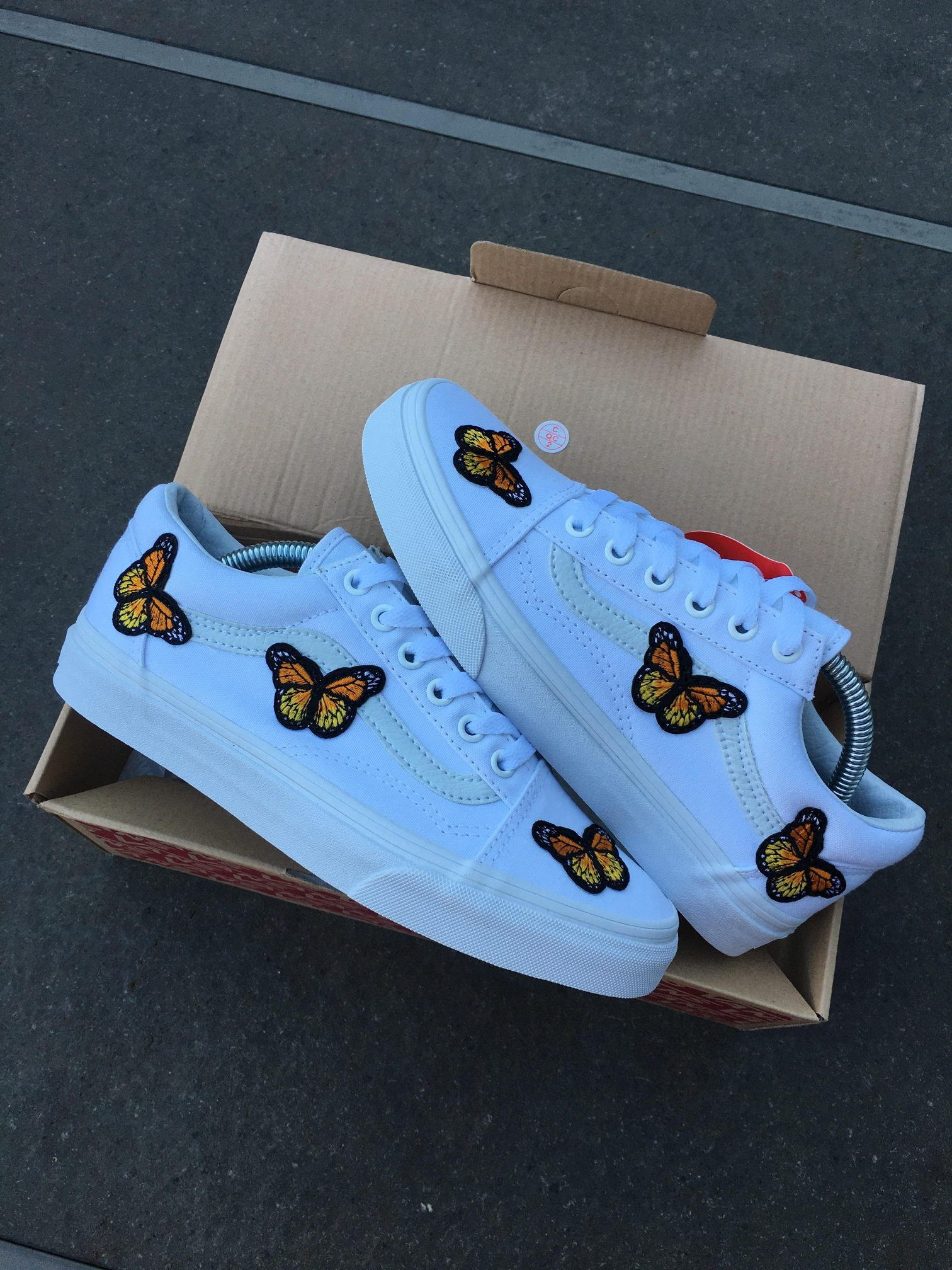 fashionable and attractive package enjoy lowest price top quality Butterfly Vans