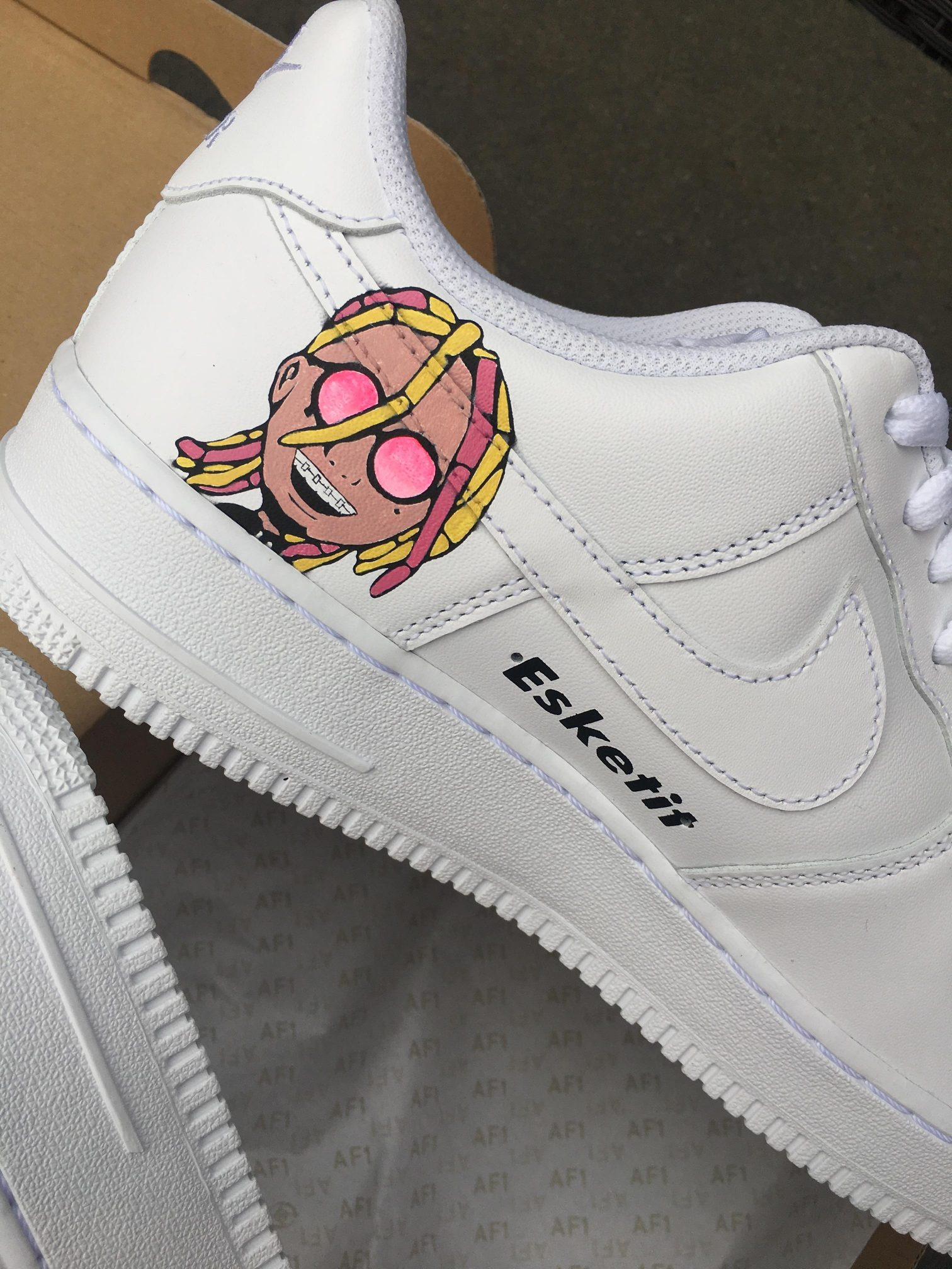 Custom Vans For Sale >> AF1 x 6ix9ine x Lil Pump - TA-Customs