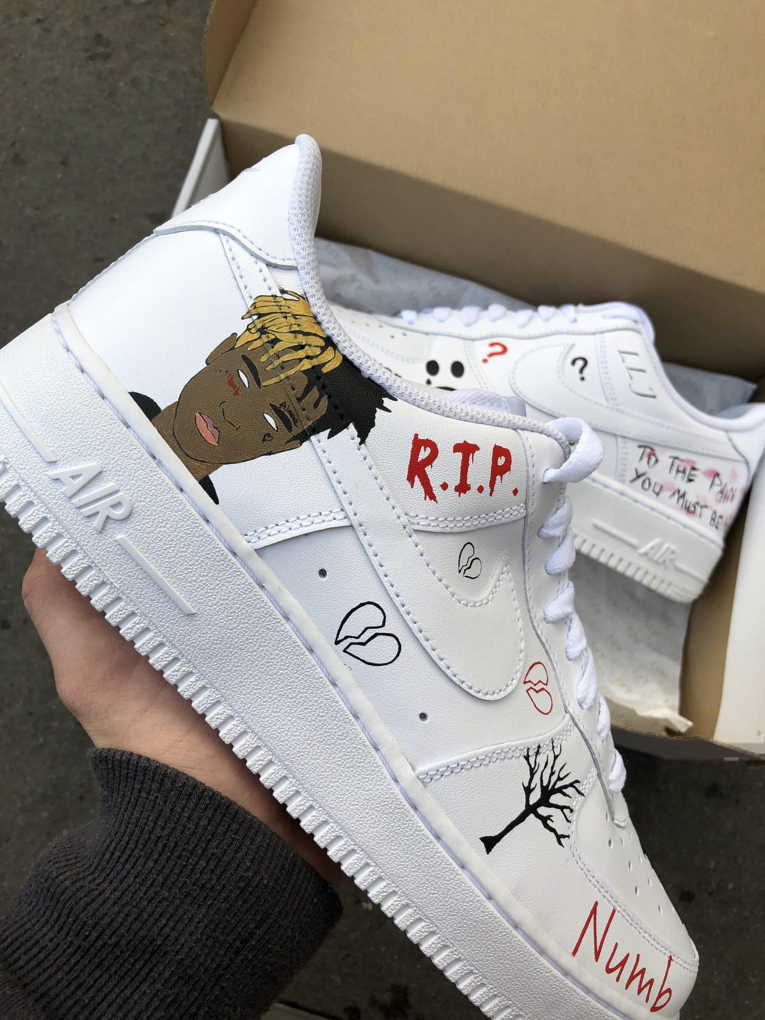 customize air force ones